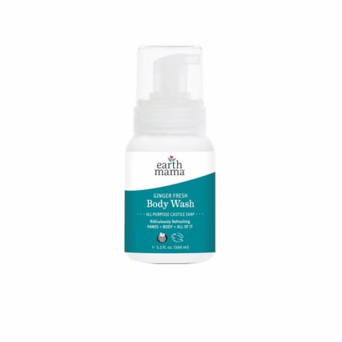 Earth Mama Morning Welllness Body Wash Perspective: front