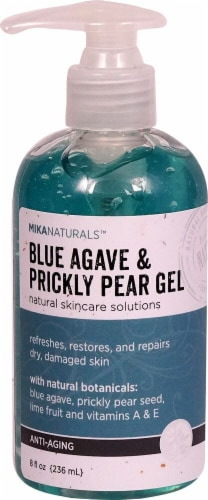 Mikanaturals  Anti-Aging Blue Agave & Prickly Pear Gel Perspective: front