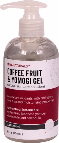 Mikanaturals  Anti-Aging Coffee Fruit & Yomogi Gel Perspective: front