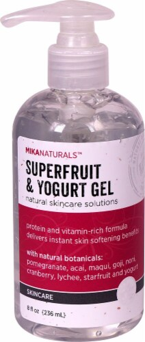 Mikanaturals Superfruit & Yogurt Skincare Gel Perspective: front