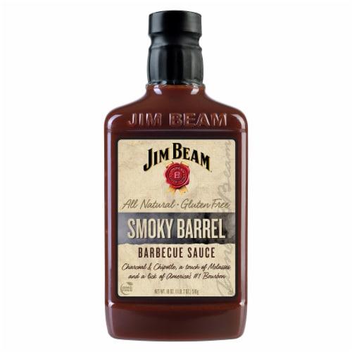 Jim Beam Smoky Barrel BBQ Sauce Perspective: front