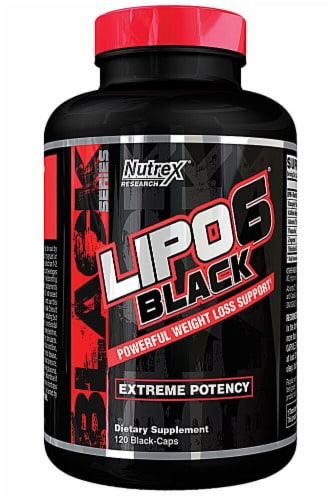 Nutrex Research  LIPO-6 Black® Perspective: front