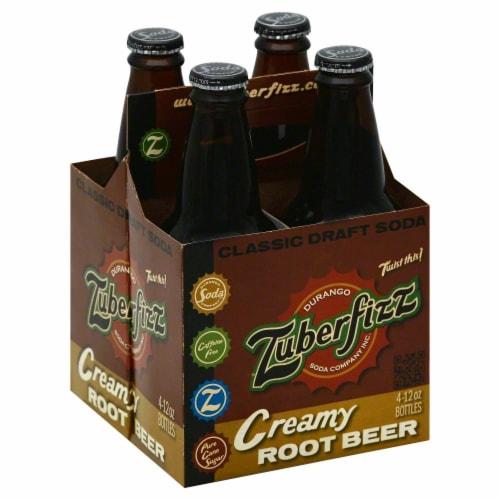 Zuberfizz Root Beer Perspective: front