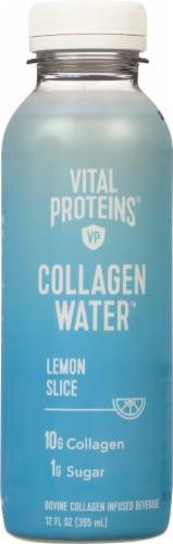 Vital Proteins Lemon Slice Collagen Water Perspective: front