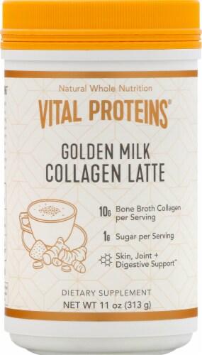 Vital Proteins Collagen Latte - Golden Milk Perspective: front