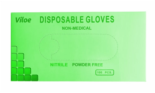 Viloe Medium Nitrile Gloves Perspective: front