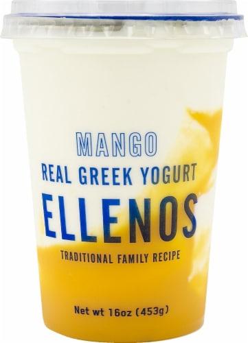 Ellenos Mango Real Greek Yogurt Perspective: front