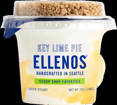 Ellenos Limited Edition Key Lime Pie Real Greek Yogurt Perspective: front