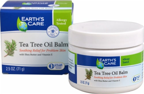 Earth's Care  Tea Tree Oil Balm Perspective: front