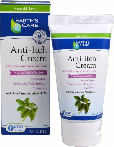 Earth's Care  Anti-Itch Cream Perspective: front