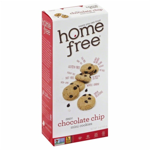 Home Free Mini Chocolate Chip Cookies Perspective: front