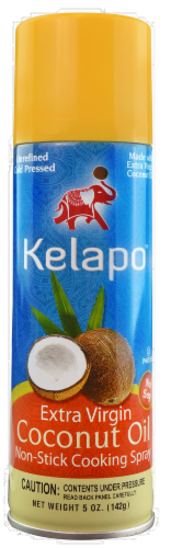 Kelapo Extra Virgin Coconut Oil Cooking Spray Perspective: front