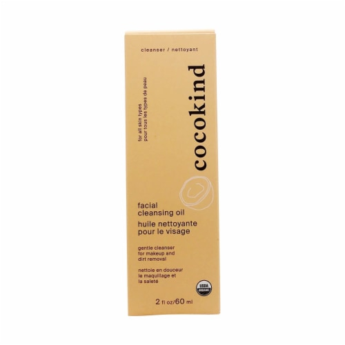 Cocokind Organic Facial Cleansing Oil - 2 Fl oz. Perspective: front