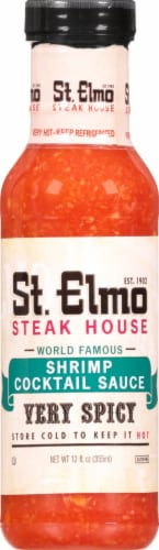 St. Elmo Steak House Very Spicy Shrimp Cocktail Sauce Perspective: front
