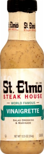 St. Elmo Steak House Vinaigrette Perspective: front