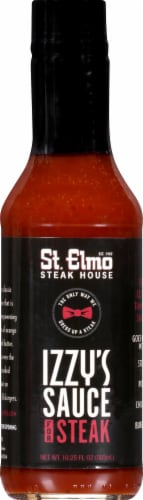 St. Elmo Steak House Izzy's Steak Sauce Perspective: front