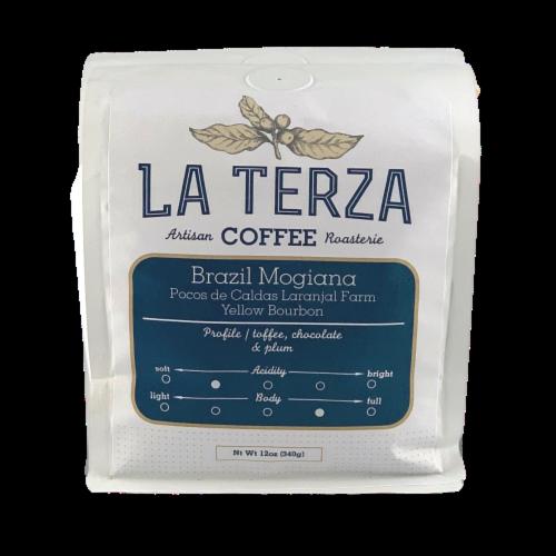 La Terza Brazil Mogiana Artisan Coffee Perspective: front