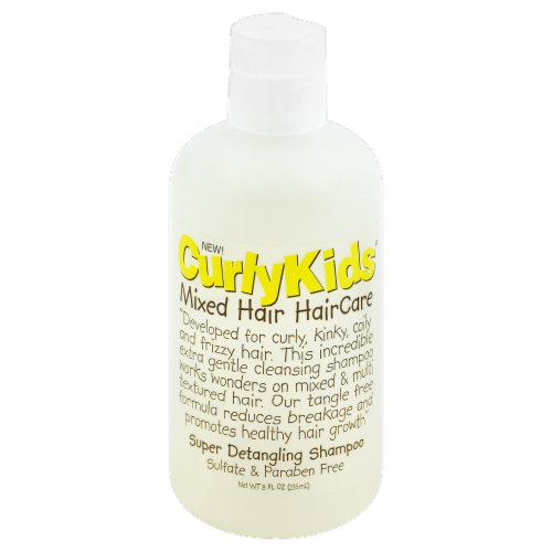 Curly Kids Super Detangling Shampoo Perspective: front