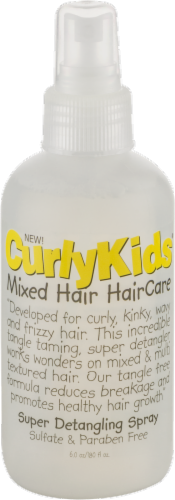 Curly Kids Mixed Hair Care Super Detangling Spray Perspective: front