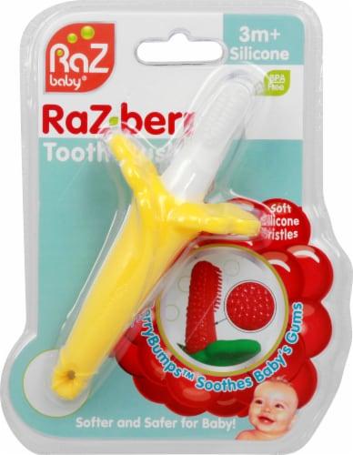 RAZBaby Raz-Berry Baby Toothbrush Perspective: front