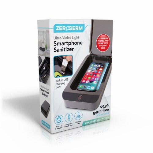 ZeroGerm Ultra-Violet Light Smartphone Sanitizer Perspective: front