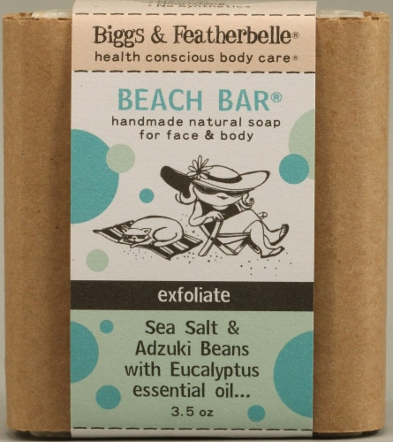 Biggs & Featherbelle  Beach Bar® Exfoliate Soap Perspective: front