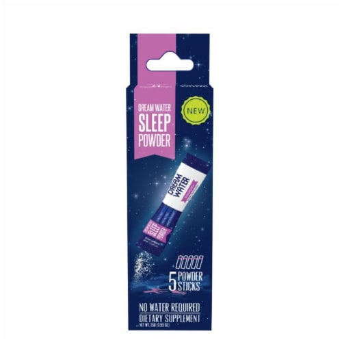 Dream Water Snoozeberry Sleep Powder Perspective: front