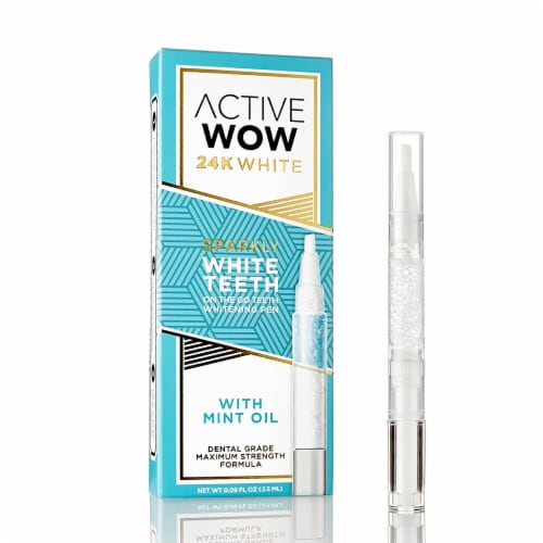 Active Wow 24K Premium Teeth Whitening Pen Perspective: front