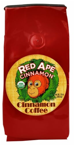 Red Ape Cinnamon Organic Cinnamon Ground Coffee Perspective: front