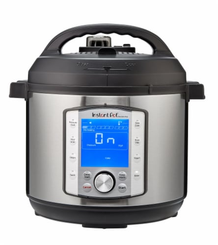 Instant Pot® Duo Evo Plus Pressure Cooker - Silver/Black Perspective: front