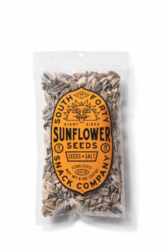 South 40 Snacks Giant Salted Sunflower Seeds Perspective: front