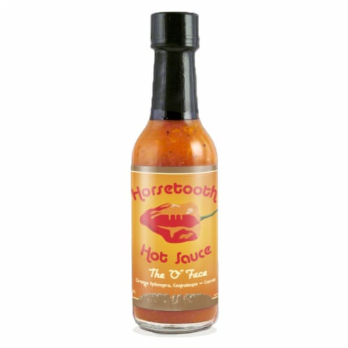 Horsetooth The O Face Hot Sauce Perspective: front