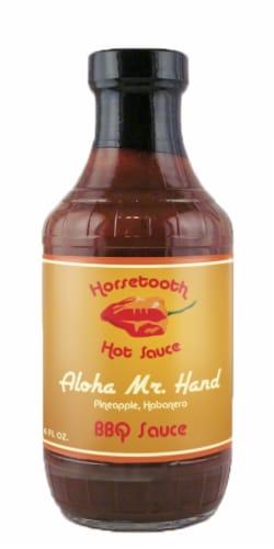 Horsetooth Hot Sauce Aloha Pineapple & Habanero BBQ Sauce Perspective: front