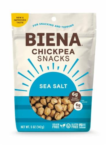 Biena Sea Salt Chickpea Snacks Perspective: front