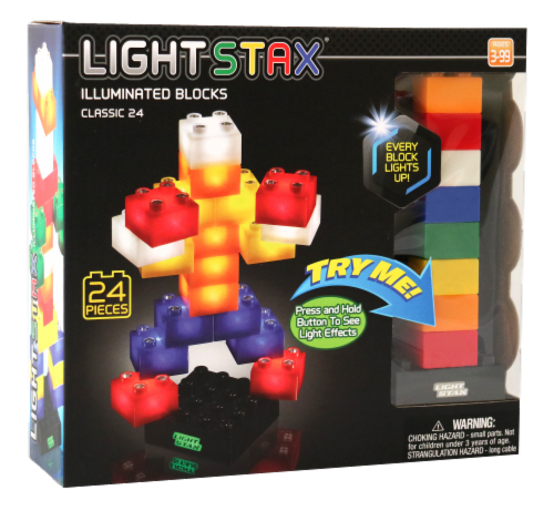 Light Stax Classic Illuminated Blocks Perspective: front