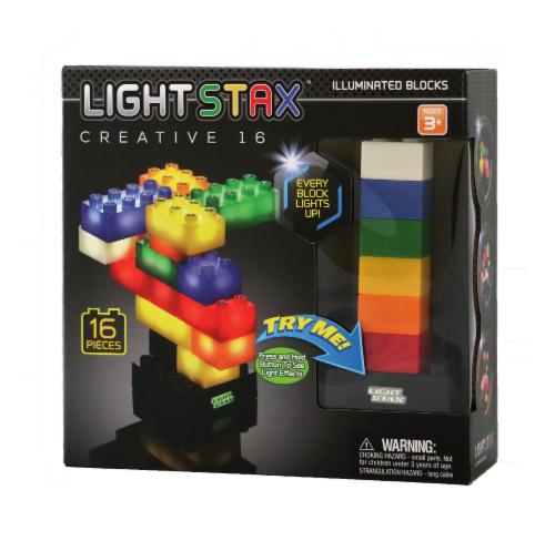 Light Stax Creative Illuminated Blocks Perspective: front