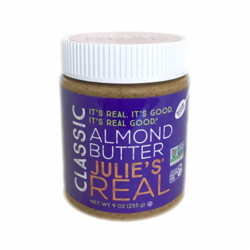 Julie's Real Classic Almond Butter Perspective: front