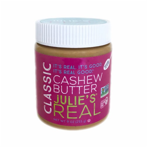 Julie's Real Cashew Butter Perspective: front