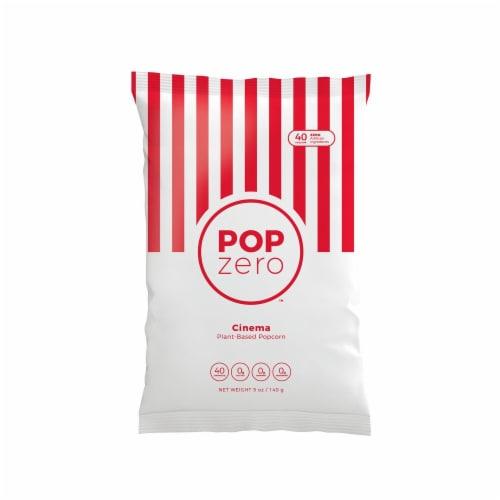 Pop Zero Cinema Plant-Based Popcorn Perspective: front