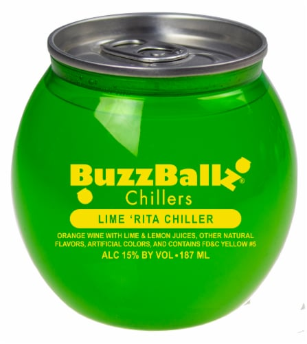 BuzzBallz Chillers Lime 'Rita Chiller Cocktail Perspective: front