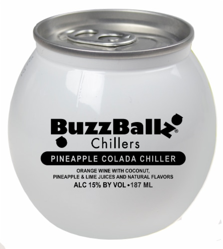 BuzzBallz Chillers Pineapple Colada Chiller Perspective: front