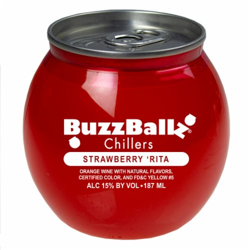 BuzzBallz Chillers Strawberry Chiller Perspective: front