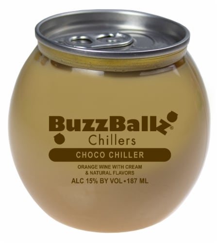 BuzzBallz Chillers Choco Chiller Cocktail Perspective: front