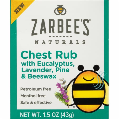 Zarbee's Naturals Chest Rub Perspective: front
