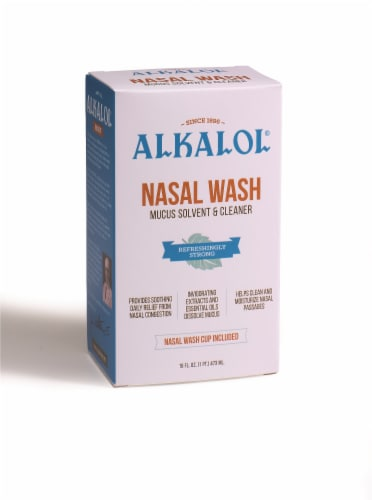 Alkalol Nasal Wash Kit Perspective: front