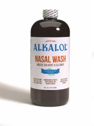 Alkalol Natural Soothing Nasal Wash Perspective: front