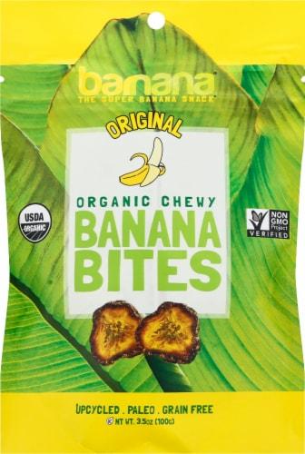 Barnana Organic Gluten Free Original Chewy Banana Bites Perspective: front