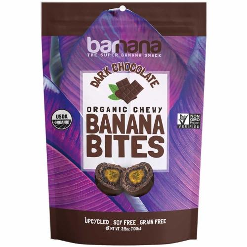 Barnana Chocolate Banana Bites, 3.5 Ounce -- 12 per case. Perspective: front