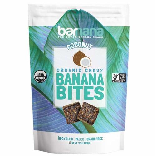 Barnana Coconut Banana Bites, 3.5 Ounce -- 12 per case. Perspective: front