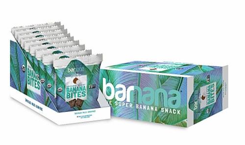 Barnana  Organic Chewy Banana Bites Gluten Free   Coconut Perspective: front